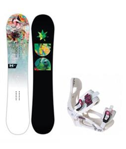 DC Biddy Snowboard w/ LTD LT250 Bindings
