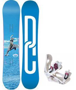 DC Biddy Snowboard w/ LTD LT250 Bindings