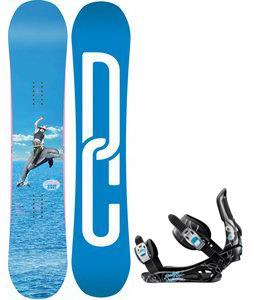DC Biddy Snowboard w/ Rossignol Gala Bindings