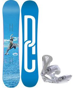 DC Biddy Snowboard w/ Sapient Zeta Bindings