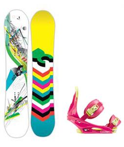 DC Ply Snowboard w/ Burton Citizen Bindings