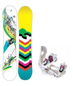 DC Ply Snowboard w/ LTD LT250 Bindings