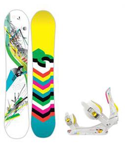 DC Ply Snowboard w/ Rossignol Myth Bindings