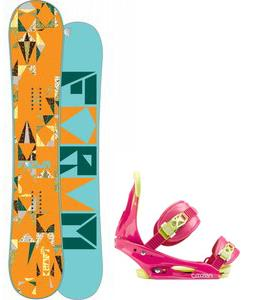 Forum Craft Snowboard w/ Burton Citizen Bindings