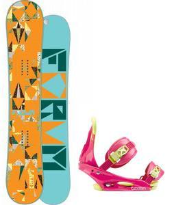 Forum Craft Snowboard w/ Burton Citizen Bindings