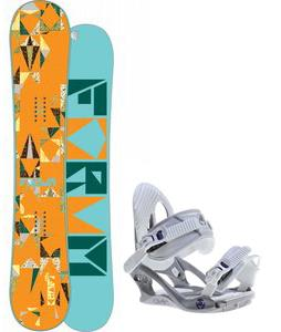 Forum Craft Snowboard w/ K2 Charm Bindings