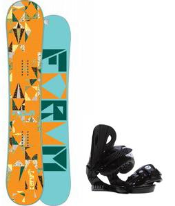 Forum Craft Snowboard w/ Roxy Classic Bindings