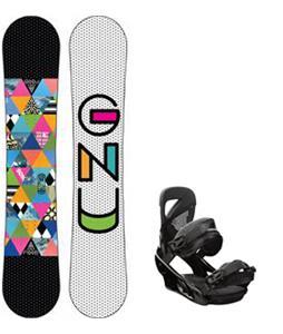 GNU B-Nice Snowboard w/ Burton Lexa Bindings
