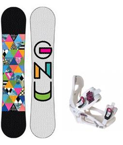 GNU B-Nice Snowboard w/ LTD LT250 Bindings