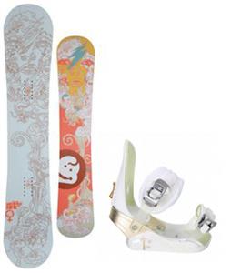 Jeenyus Wedge Snowboard w/ Morrow Lotus Bindings