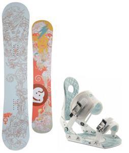 Jeenyus Wedge Snowboard w/ Ride LXH Bindings
