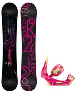 K2 Bright Lite Snowboard w/ Burton Citizen Bindings