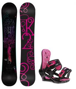 K2 Bright Lite Snowboard w/ Morrow Sky Bindings
