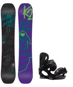 K2 Lime Lite Snowboard w/ Roxy Classic Bindings