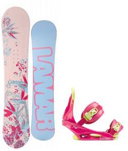 Lamar Merlot Snowboard w/ Burton Citizen Bindings