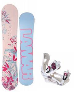 Lamar Merlot Snowboard w/ LTD LT250 Bindings