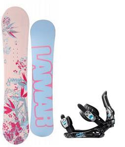 Lamar Merlot Snowboard w/ Rossignol Gala Bindings