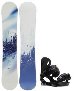 M3 Free Snowboard w/ Roxy Classic Bindings
