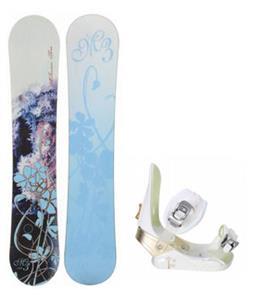 M3 Frosty Snowboard w/ Morrow Lotus Bindings