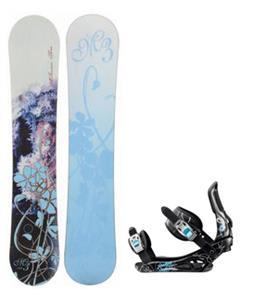 M3 Frosty Snowboard w/ Rossignol Gala Bindings