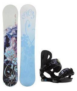 M3 Frosty Snowboard w/ Roxy Classic Bindings