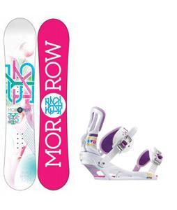 Morrow Sky Snowboard w/ Rossignol Myth Bindings