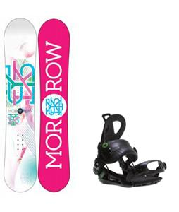 Morrow Sky Snowboard w/ Roxy Rock-It Blast Bindings