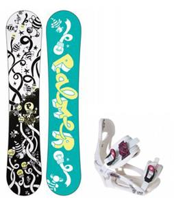 Palmer Jade Twin Snowboard w/ LTD LT250 Bindings