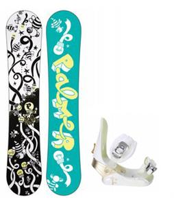 Palmer Jade Twin Snowboard w/ Morrow Lotus Bindings