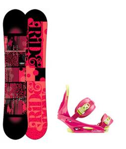 Ride Compact Snowboard w/ Burton Citizen Bindings