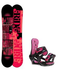 Ride Compact Snowboard w/ Morrow Sky Bindings