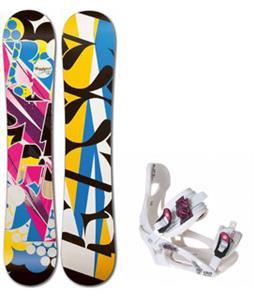 Rossignol Justice Amptek Snowboard w/ LTD LT250 Bindings