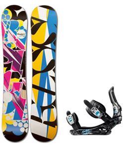 Rossignol Justice Amptek Snowboard w/ Gala Bindings