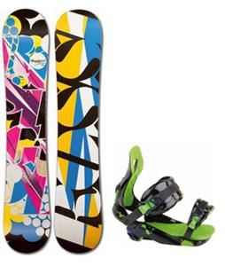 Rossignol Justice Amptek Snowboard w/ Justice Bindings