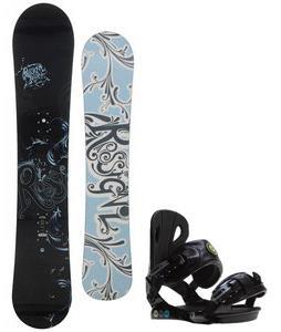 Rossignol Reserve Snowboard w/ Roxy Classic Bindings