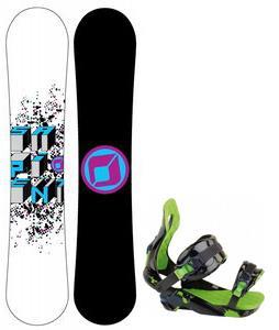 Sapient Destiny Snowboard w/ Rossignol Justice Bindings