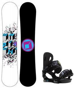 Sapient Destiny Snowboard w/ Roxy Classic Bindings