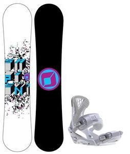 Sapient Destiny Snowboard w/ Zeta Bindings