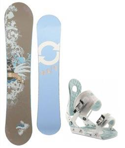 Twenty Four/Seven Fawn Snowboard w/ Ride LXH Bindings
