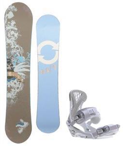 Twenty Four/Seven Fawn Snowboard w/ Sapient Zeta Bindings