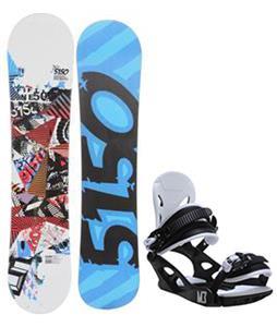 5150 Shooter Snowboard w/ M3 Helix 3 Bindings