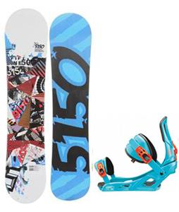 5150 Shooter Snowboard w/ Rossignol Cage Bindings