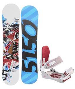 5150 Shooter Snowboard w/ Technine JV Bindings