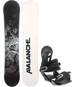 Avalanche Crest Snowboard w/ Avalanche Summit Bindings