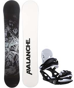 Avalanche Crest Snowboard w/ M3 Helix 3 Bindings