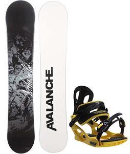 Avalanche Crest Snowboard w/ M3 Pivot Rockstar Bindings