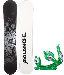 Avalanche Crest Snowboard w/ Rossignol Battle Bindings