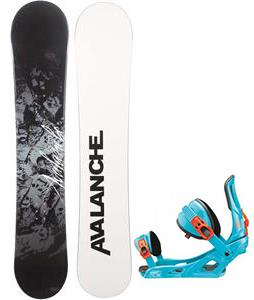 Avalanche Crest Snowboard w/ Rossignol Cage Bindings