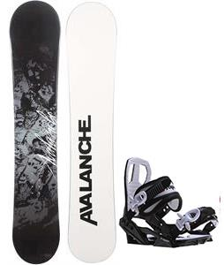 Avalanche Crest Snowboard w/ Sapient Zeus Jr Bindings