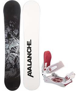 Avalanche Crest Snowboard w/ Technine JV Bindings